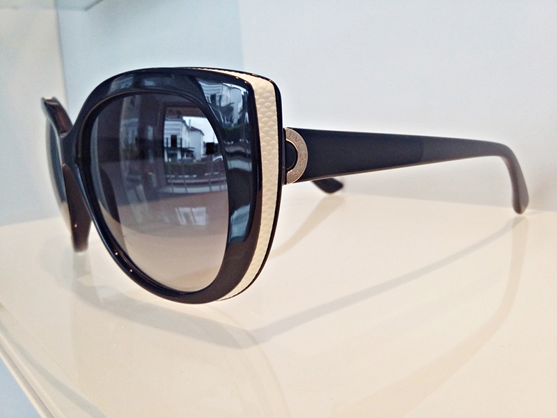 occhiali Bulgari donna cat eyes