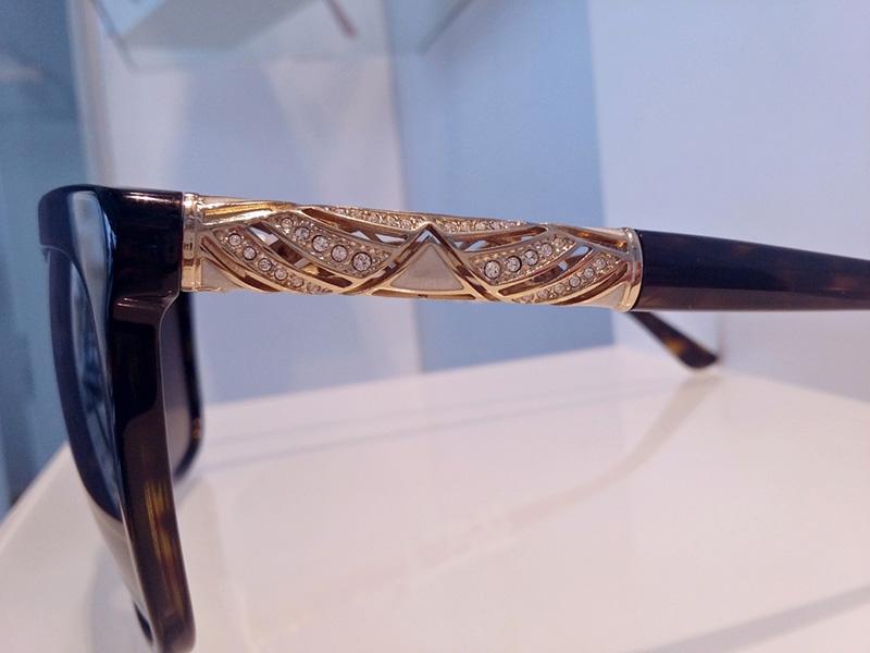 occhiali Bulgari decorazione stanghetta