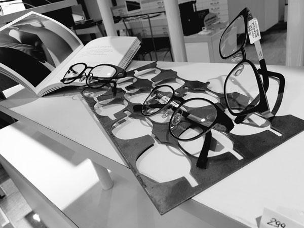 occhiali titanio Blackfin