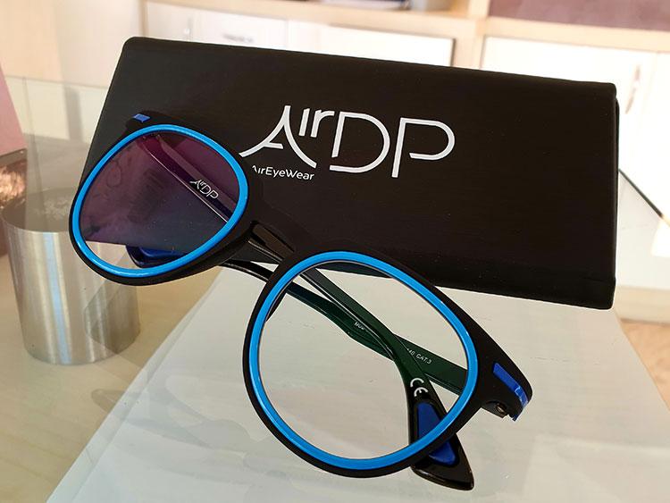 air dp occhiali montature innovative
