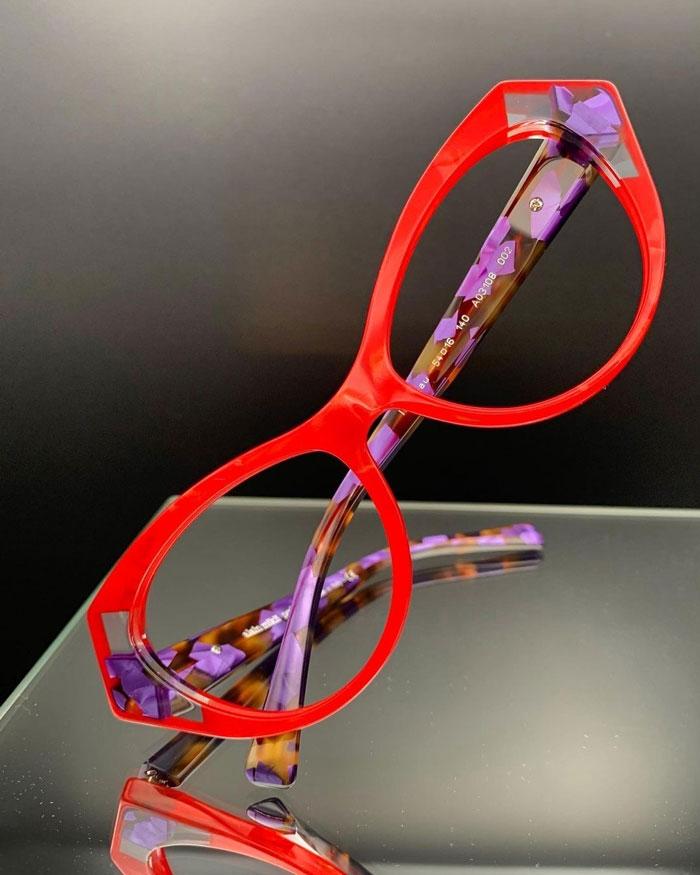 Alain Mikli occhiali da vista colorati