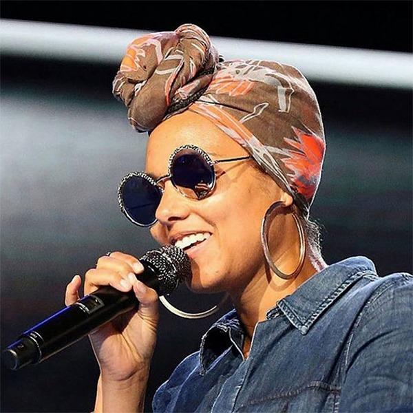 Alicia Keys Cutler & Gross Eyewear
