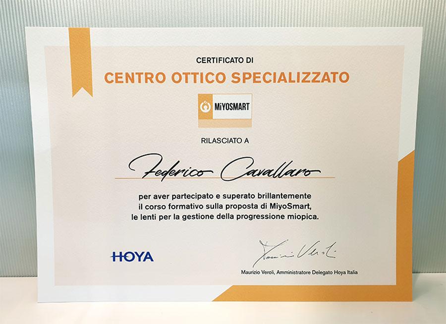 MiYOSMART Hoya controllo lenti miopia a Padova e Venezia