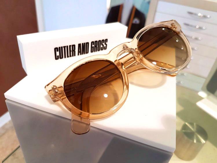 Cutler and Gross occhiali moda