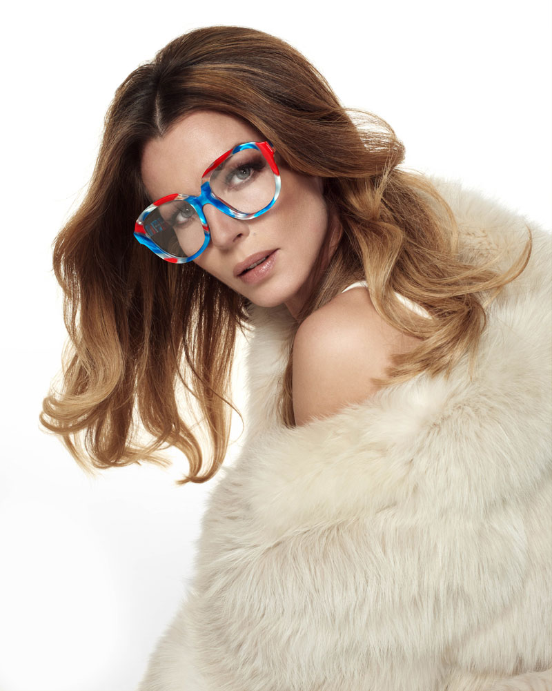 Estiara occhiali da vista eccentrici