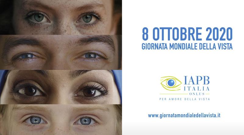 giornata mondiale della vista 8 ottobre 2020