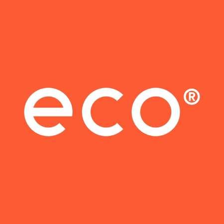 "occhiali ecologici ""Eco"" logo"