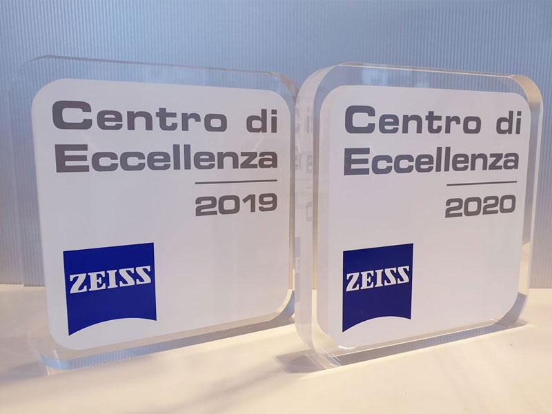 ottico eccellenza Zeiss 2020 Padova